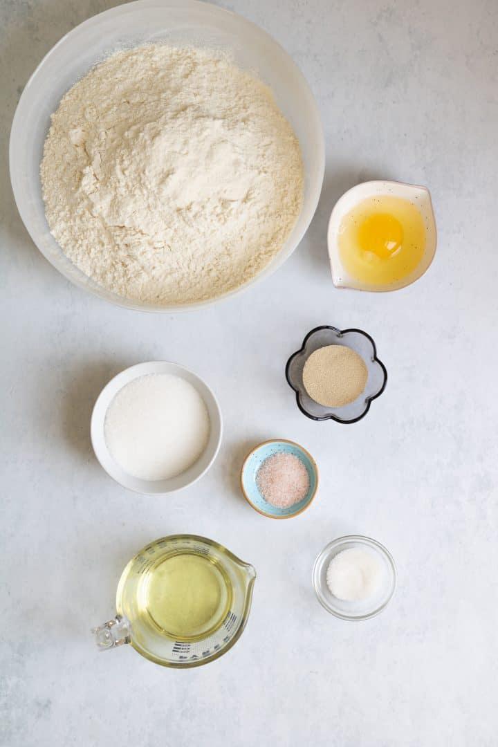 ingredients to make challah
