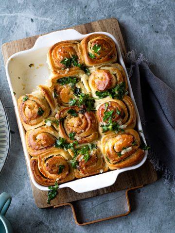 Garlic Swirl Rolls